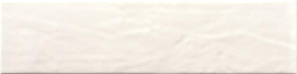 CERAMIC WALL TILE 10X40 PURITY WHITE GLOSSY-DK (THICKNESS 9 MM) - ECE