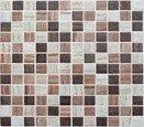 MOSAIC WALL TILE DECO ON MESH 31,6X31,6 VITREOUS PALMERSTON MIX - MSV