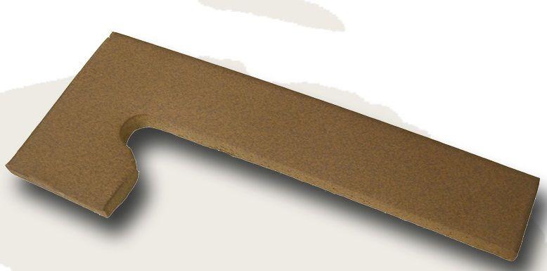 Zanquin rustico 40x25 - Gres rustico extrusionado ...