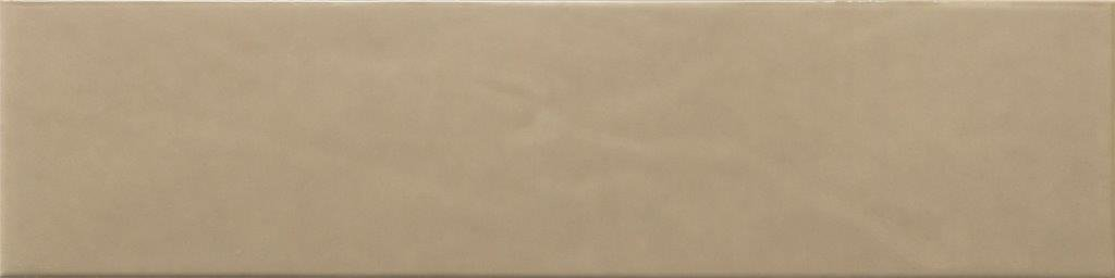 CERAMIC WALL TILE 10X40 PURITY TOFFEE GLOSSY-DK (THICKNESS 9 MM) - ECE