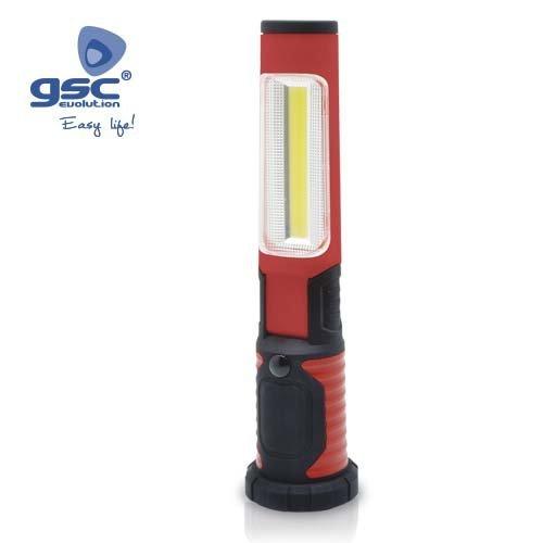 TUBO PORTATIL LED RECARGABLE ABATIBLE - GSC