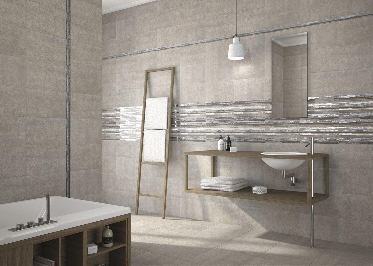 Revestimiento 25x40 nathalie gris mate crt for Fabrica de azulejos