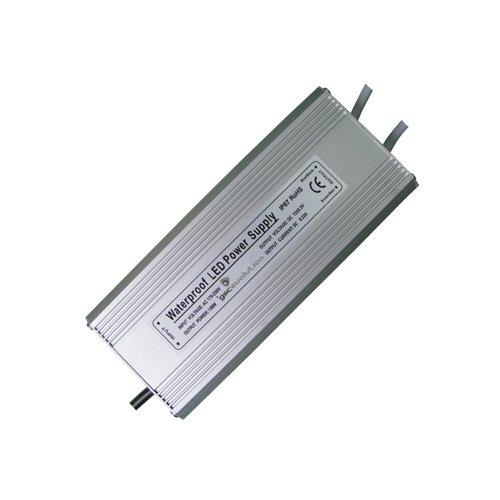 TRANSFORMADOR PARA TIRAS LED 220V A 12V 200W IP67 - GSC