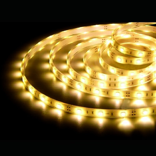 ROLLO 5M LED SMD 5050 30LEDS/M(7.2W) BLANCO 2800K IP68 - GSC
