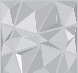 PANEL DECORATIVO 3D-PEDIR MUESTRA 50X50 DIAMOND - DCO