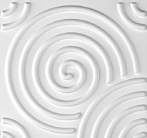 PANEL DECORATIVO 3D-PEDIR MUESTRA 50X50 RIPPLE - DCO