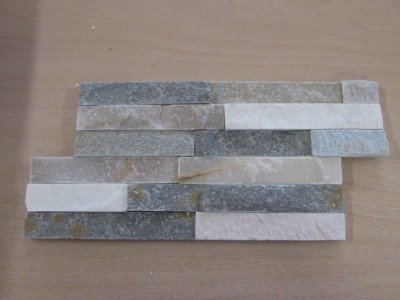 REVESTIMIENTO PIZARRA NATURAL 18X35 CUARZO ONQUARTZ (Espesor 1-2 cm) - CRP