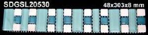 LISTELO 4,8X30,3X8 ENMALLADO SDGSL20530 - CRP